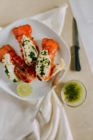 Baked Lobster Tail with Onion Butter ...