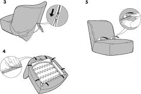 ikea stockholm easy chair cover