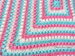 Easy Crochet Granny Squares Free Patterns Simple Bobbles And Stripes Granny Square Blanket Free Easy Crochet