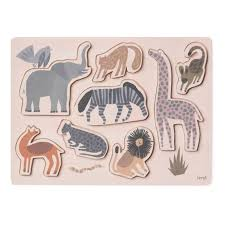 safari wooden puzzle product