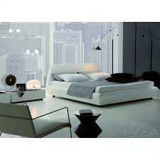 Rossetto Downtown Platform Bed 3 Piece Bedroom Set in White ...