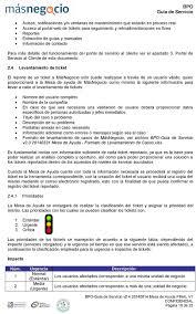 Mesa De Servicio Pdf Ayuda Guía -