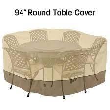 94 waterproof round patio set cover
