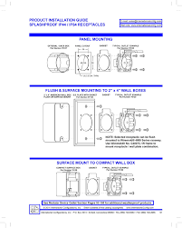 15a 125v ac flanged panel mount outlet nema 5 15r, ul 498 5 15r Outlet Diagram 5 15r Outlet Diagram #14 Outlet 5- 15 20R