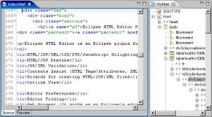 EclipseHTMLEditor - Project Amateras