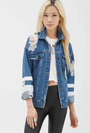 14 best denim jacket als images on denim jackets distressed denim jacket