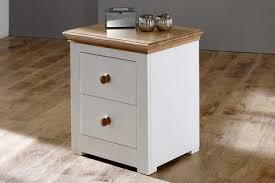 Elegant Hampshire Bedroom Furniture Range Painted Solid Wood With Oak Tops The Oak  Bed Store