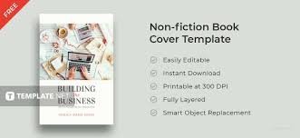 small book template free small business book cover template in adobe photoshop