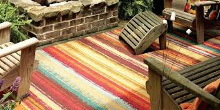 peaceful multi colored outdoor rugs bright