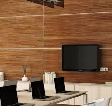 Here's One Alternative To Boring Drywall: Wood Wall Paneling: Exotic  Veneers Mean Handsome Wood