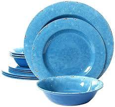 microwave and dishwasher safe plastic plates. Fine Microwave Studio Line By Gates Piece Melamine Dinnerware Set Of 4 Blue Dishwasher And Microwave  Safe Plastic Throughout Microwave And Dishwasher Safe Plastic Plates I