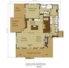 modern farmhouse floor plan with