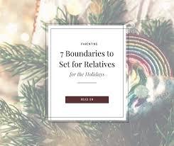 Słuchaj muzyki w wykonaniu candy hemphill christmas takiej jak room at the cross. 7 Firm Family Boundaries You Can Easily Set For The Holidays Milk Murder