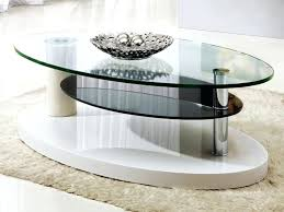 modern glass coffee table oval modern glass coffee table modern glass coffee tables italian