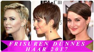 Frisuren D Nnes Haar 2017 Youtube