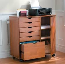 office rolling cart.  cart wide rolling storage cart filing cabinet drawers home office craft room 3  colors throughout b