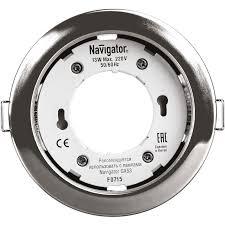 <b>Светильник Navigator</b> 71 279 NGX-R1-003-<b>GX53</b>(<b>Хром</b> ...