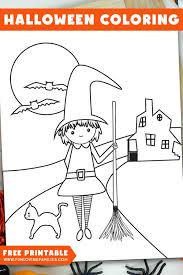 Free printable halloween coloring pages. Halloween Coloring Pages Free Printables Fun Loving Families