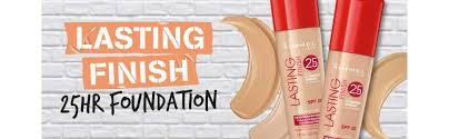 Rimmel Stay Matte Foundation Color Chart Rimmel Lasting Finish 25 Hour Full Coverage Hydrating Liquid Foundation With Hyaluronic Acid Spf 20 100 Ivory 30 Ml
