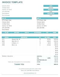 If You Need A Sales Invoice For Products Can Use This Basic