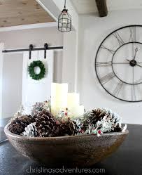 Dough Bowl Decorating Ideas Farmhouse Christmas Decorating Ideas Christinas Adventures 100