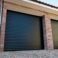 gliderol roller door with full hood and colour paint finish aluminium roller door insulated