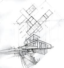 Architecture Houses Sketch Hd Wallpapers In Architecture