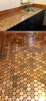 Penny Kitchen Floor 17 Best Ideas About Penny Countertop On Pinterest Penny Table