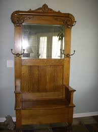 antique foyer furniture. antique entryway bench coat rack foyer furniture h