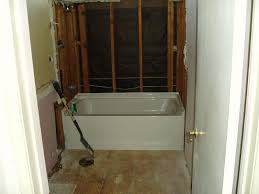 interior remove and install shower bathtub bathroom design installing satisfying a new tub 4