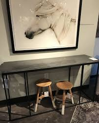 img bluestone console table me gardens long bamboo entryway coffee butler fossil stone black demilune bar weathered narrow