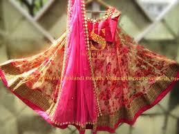 Swathi Veldandi Designer Floral Lehenga With Mirror Work Perfect For Upcoming