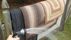 stop worrying about stains and spills with washable stain proof braided rugs
