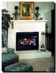 ventless gas fireplace inserts menards fireplace gas logs