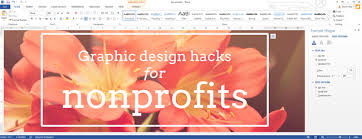 create design office. graphic design hacks using microsoft office to create images