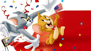 tom and jerry love america desktop hd wallpaper for mobile phones tablet and pc 2560 1600