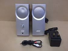 bose companion 2 speakers. bose companion 2 series i multimedia speaker system silver w/ ac adapter, cable bose speakers