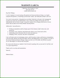 Reception Cover Letters How To Write A Resume For Receptionist Position Recommended