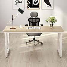 Large desks for home office Homemade Amazoncom Tribesigns Computer Desk 63 Amazoncom Amazoncom Tribesigns Computer Desk 63
