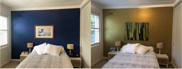 how to paint a metallic feature wall