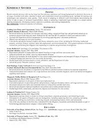 Magnificent Junior Associate Attorney Resume Gallery Entry Level