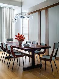 decoration endearing mid century modern dining room lighting and chandeliers