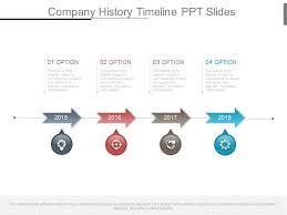 Powerpoint History Company History Timeline Ppt Slides Powerpoint Shapes
