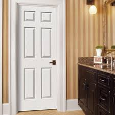Masonite 28 In X 80 In MDF Series Smooth 1Panel Solid Core Solid Doors Home Depot
