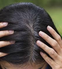 gray hair naturally