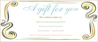 Free Customizable Gift Certificate Template New Editable Gift Certificate Templates Gift Certificate Templates