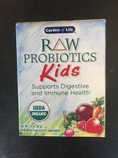 garden of life probiotics kids. Raw Probiotics Kids 3.4oz(96g) Garden Of Life USDA Organic Vegan Gluten FREE