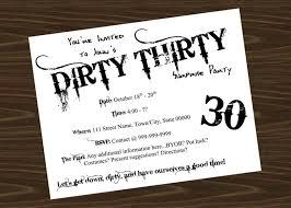 dirty 30 birthday invitation templates dirty invitation wording premium template desi on th birthday invitation wording