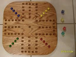 Marble Game With Wooden Board Great gift 100 wood oak aggravation marble game board 100100 player 2