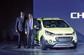 new car launched by chevrolet in indiaGM to launch first compact sedan in India as part of market share